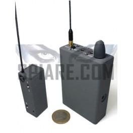 Kit Microspia ad alta potenza con ricevitore dedicato